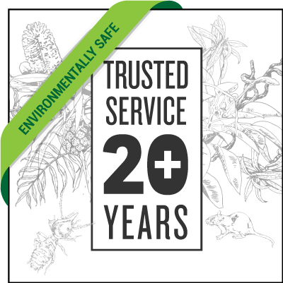 So Years of Trusted Service - now environmentally friendly
